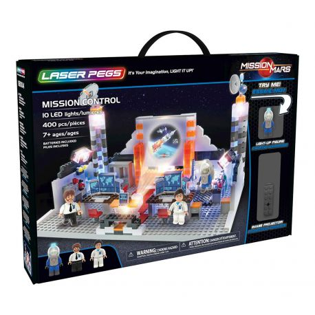 Misson Control Laser Pegs