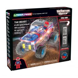 The Beast Monter Rally Laser Pegs - coffret de dos