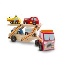 Camion porte véhicules d'urgence