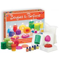 Kit créatif Bougies et Parfums