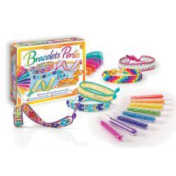 Création de bracelets en perles à tisser