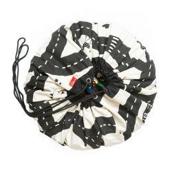 Sac rangement de jouets - Tapis circuit - Play and Go