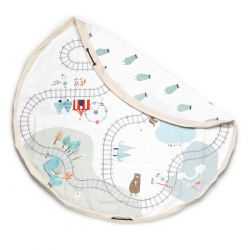 Sac rangement - Tapis circuit de trains - Play and Go