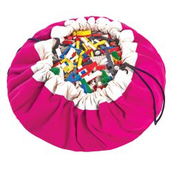 Sac rangement fuchsia - Play and Go