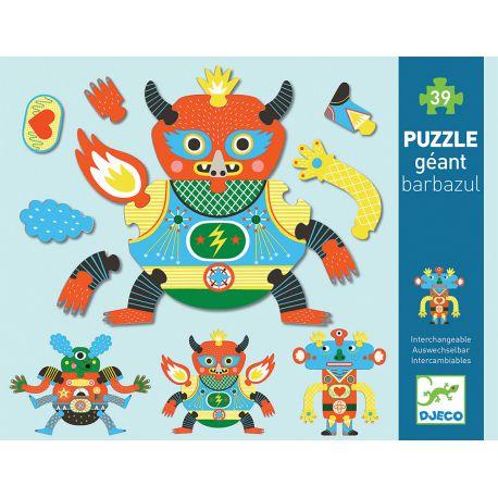 Crazy Puzzle - Barbazul - coffret