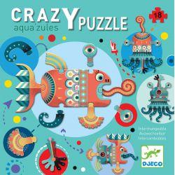 Aqua'zules - Crazy Puzzle 18 pièces interchangeables