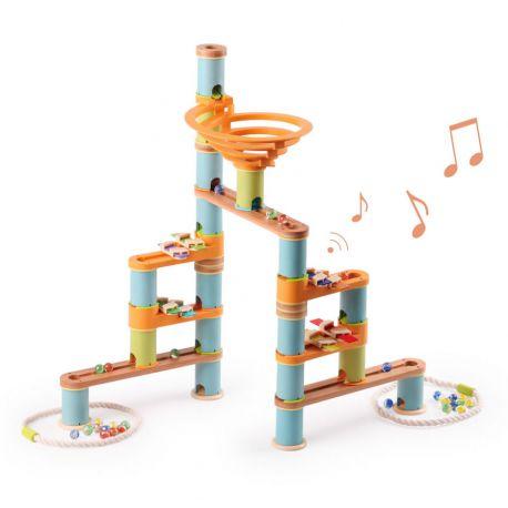 Circuit de Billes musical 98 pièces