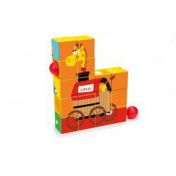 Puzzle Roller Coaster Cirque - la girafe