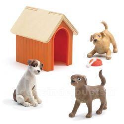 Les chiens - Poupées Djeco