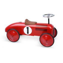 Porteur voiture rouge métal Vilac