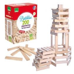 Batibloc classic 200 planchettes en bois massif