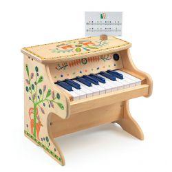 Piano en bois électronique enfant Animambo Djeco