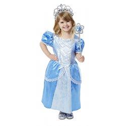 Petite fille dnas le déguisement princesse royale Melissa et Doug