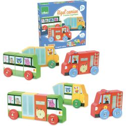 Rigol' camion - puzzle magnétique