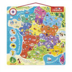 Puzzle France magnétique