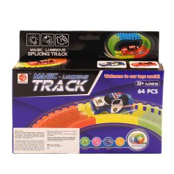 Magic Tracks 64 Rails + 1 voiture