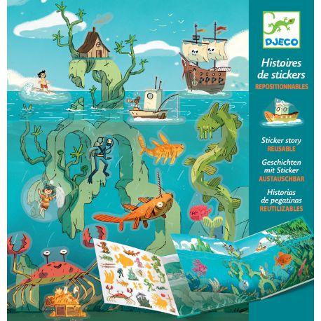 Stickers repositionnables Les aventures en mer