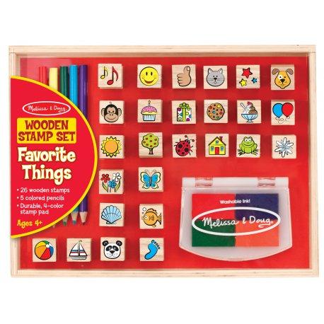 tampons encreurs - objets préférés Melissa et Doug
