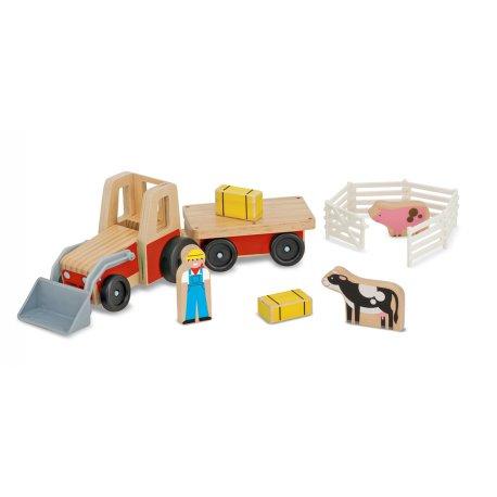 Tracteur de ferme en bois Melissa et Doug
