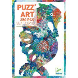 Sea Horse - Puzz'art hippocampe Djeco 350 pièces
