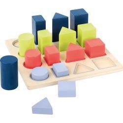 puzzle géométrie, jeu de tri et de séquence
