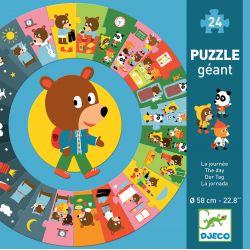 Puzzle géant la journée 24 pièces