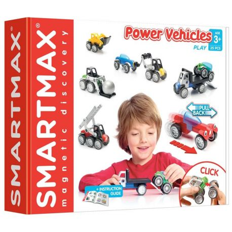 SmartMax Les Gros Véhicules - Power Vehicles