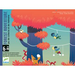 Forest Adventure - jeu de cartes Djeco