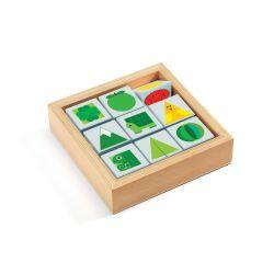 TriBasic Djeco - Jeu de tri sur les couleurs et les formes