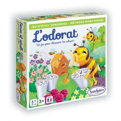 L'odorat - Jeu sensoriel sur les odeurs - méthode Montessori