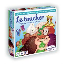 Le toucher - Jeu sensoriel sur les textures - méthode Montessori