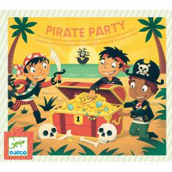 Pirate Party - pochette organisation anniversaire