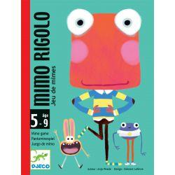 Mimo Rigolo Djeco - jeu de cartes et de mimes