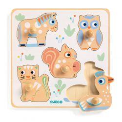 BabyPuzzli - puzzle 1 an à encastrement