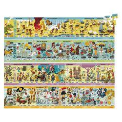 Puzzle Grande frise historique 4 x 100 pièces
