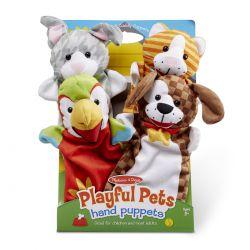 Marionnettes à main les animaux de compagnie Melissa et Doug