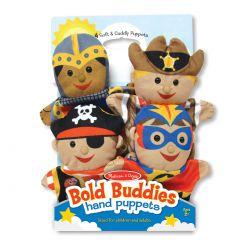 Marionnettes à main les amis intrépides