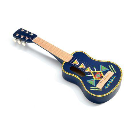 Guitare 6 cordes métalliques Djeco
