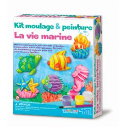 Kit de moulage et peinture - la vie marine