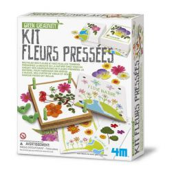 Kit presse fleurs - herbier