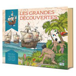 Les grandes découvertes - La santa Maria - Livre + maquettes