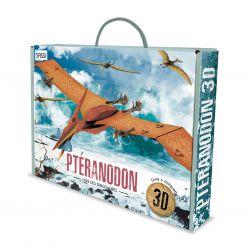 Le ptéranodon 3D - Livre + maquettes