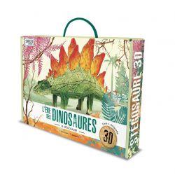 Le stégosaure 3D - Livre + maquette