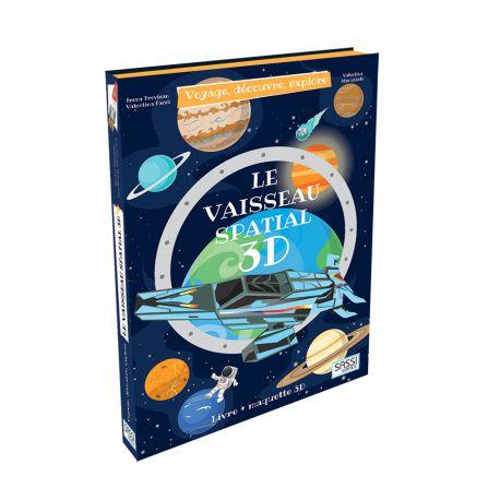 Le Vaisseau Spatial 3D - Livre + maquette