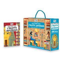 Voyage, découvre, explore l'Egypte ancienne - puzzle + livre