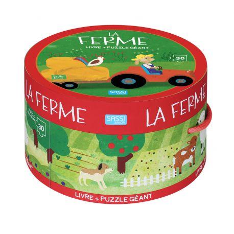 La ferme - Puzzle 30 pièces + livre