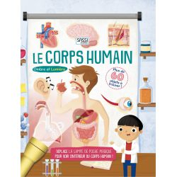 Le corps humain - Livre Ombre et lumière