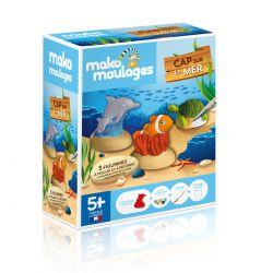 Cap sur la mer - 3 moules - Mako moulages