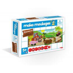 Bienvenue à la ferme - 6 moules - Mako moulages