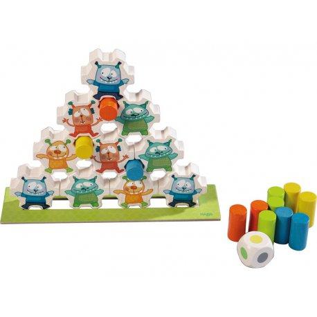 Pyramide, jeu coopératif - Mini monstres Haba
